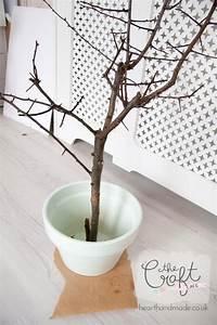 How, To, Make, A, Diy, Branch, Christmas, Tree