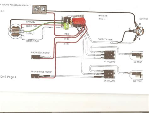 Diagram Volume Tone Humbucking Emg Active Wiring