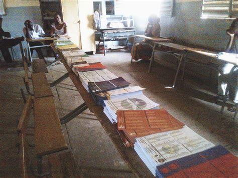 organisation bureau de vote sénégal les élections locales et départementales sans
