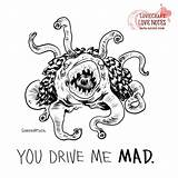 Coloring Lovecraft Cthulhu Valentine Mythos Valentines Behance Hp Horror Adult sketch template