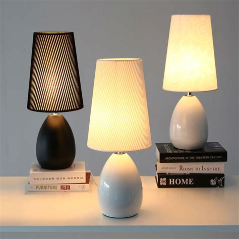 bedroom table lights modern bedroom table lamps nordic style ceramic fashion 10700 | Modern Bedroom Table Lamps Nordic Style Ceramic Fashion Simple Bedside Lamp Living Room Decoration Study Reading