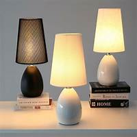 good looking contemporary bedside lamp Modern Bedroom Table Lamps Nordic Style Ceramic Fashion Simple Bedside Lamp Living Room ...