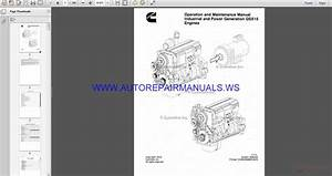 Cummins Industrial And Power Generation Engine Qsx15