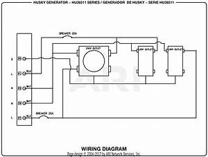 Homelite Hu36511 Series 3 650 Watt Generator Parts Diagram For Wiring Diagram