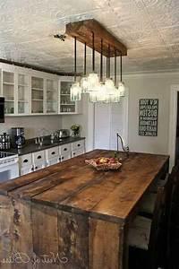 Best rustic kitchen lighting ideas on