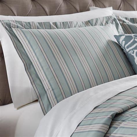 home decorators collection nuri striped blue haze king