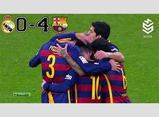 Real Madrid vs Barcelona 04 All Goals and Full Highl