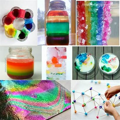 Rainbow Science Projects Activities Water Simple Playdoughtoplato