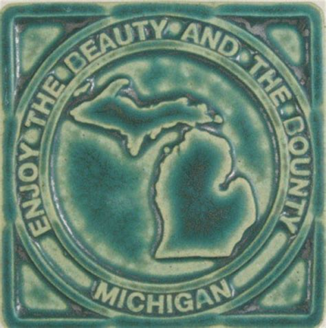 Pewabic Tile Detroit Mi by Pewabic Pottery Tile They Make A Series Of Michigan And