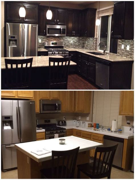 how to do a backsplash in kitchen 25 best ideas about espresso cabinets on 9387