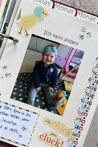 Fotoalbum Gestalten Ideen : ullatrulla backt und bastelt diy babyalbum selber gestalten gewinnspiel geschlossen ~ Frokenaadalensverden.com Haus und Dekorationen