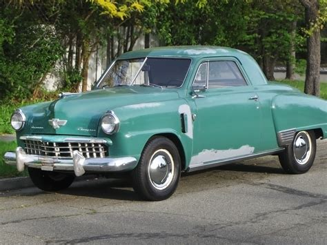 All Business: 1949 Studebaker Champion Regal Deluxe