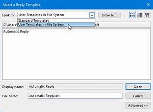 auto reply email template - out of office assistant automatic replies vacation