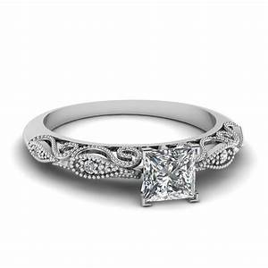 princess cut engagement rings fascinating diamonds With white gold diamond cut wedding ring