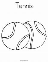 Tennis Coloring Pages Fun Ping Print Pong Balls Printable Template Ball Sports Outline Racket Game Getcoloringpages Match Twistynoodle Favorites Login sketch template