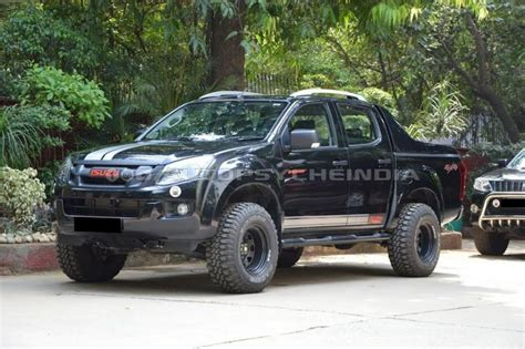 Isuzu D Max Modification by Customised Isuzu D Max V Cross Will Scare You Instantly