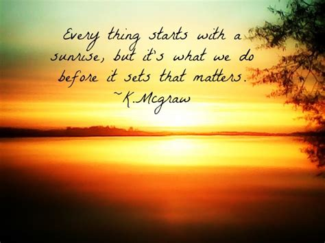 beautiful sunset added quote