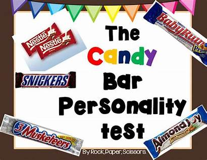 Personality Test Printable Candy Students Bar Middle