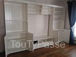 Bibliothèque Meuble Ikea : grand meuble de rangement ikea ~ Dallasstarsshop.com Idées de Décoration