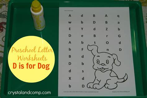 preschool letter worksheets letter d 708 | preschool letter worksheets d is for dog printable