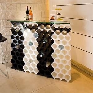 Casier bouteilles design Koziol