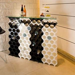 Casier à Bouteilles : casier bouteilles design koziol ~ Teatrodelosmanantiales.com Idées de Décoration