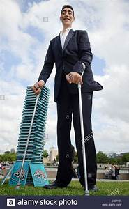 Sultan Kosen, the worlds tallest man at 8ft 1in (246.5cm ...
