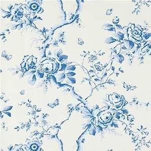 ralph lauren inredning and floral on pinterest With markise balkon mit vintage tapete floral