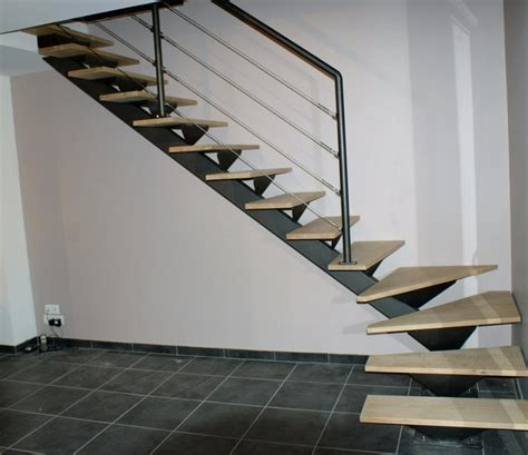 escalier 2 quart tournant haut et bas maison design
