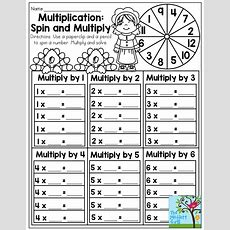 Multiplication Spin And Multiply Such A Fun Multiplication Math Game, Found In The November No