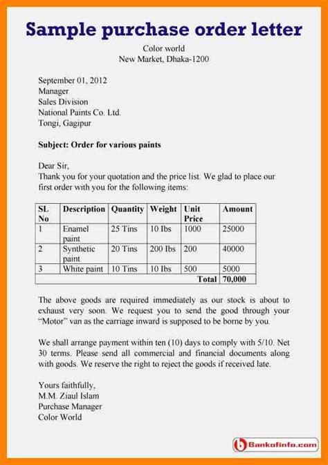 order letter format sample professional letter formats