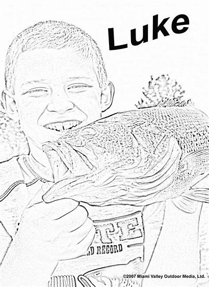 Coloring Bass Pages Luke