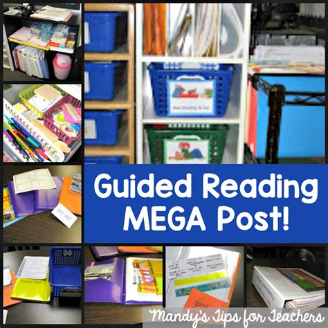 Guided Reading Series Part Three Managing Materials  Mandy's Tips For Teachers