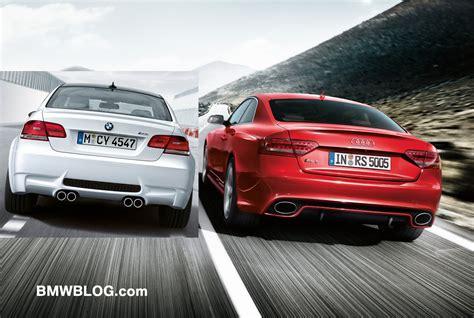 Audi S5 Vs Bmw M3 by 2014 Audi S5 Vs Bmw M4