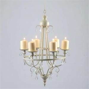 Ideas Non Electric Candle Chandeliers With Simple Design