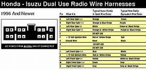 Radio Wiring Diagram For 2001 Isuzu Trooper