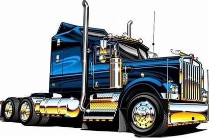 Truck Clipart Diesel Semi Clipartmag