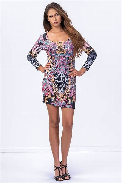 Mini Simply Gorgeous Printed Dresses Claddio