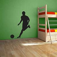 perfect soccer wall decals Soccer Player Wall Decal   Soccer Room Ideas