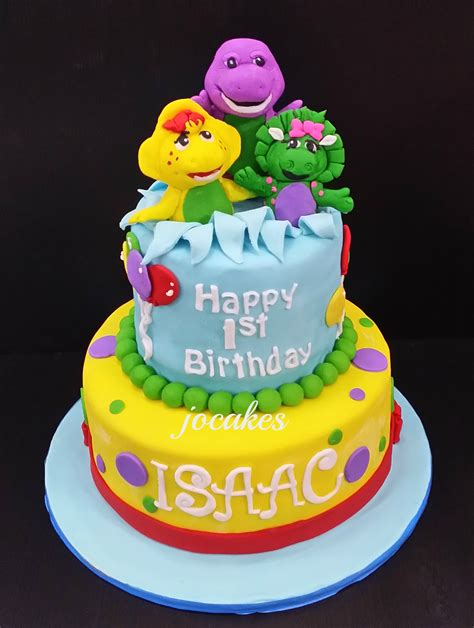 barney  friends cake jocakes