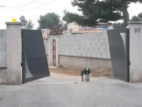 portail moderne en fer r 233 alis 233 224 chateauneuf les martigues