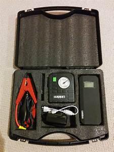 Review  Uniden Portable Jump Start Kit