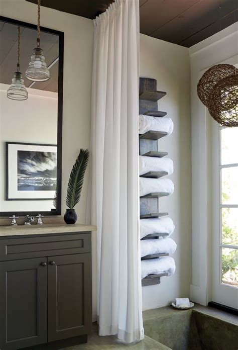 windows inspiration corner curtain rod 25 best ideas about bathroom towel storage on