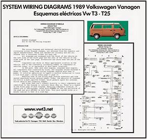 Vwt3 Net  Vw T3 T25 System Wiring Diagrams 1989