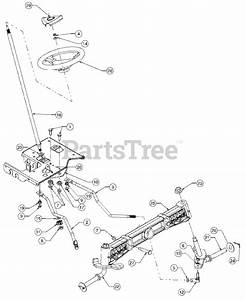 Cub Cadet Parts On The Steering Diagram For 1515  13a-201f100
