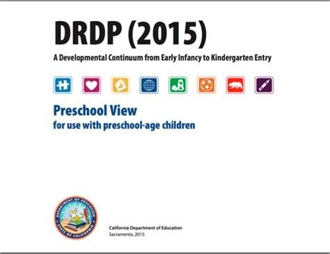 desired results for children and families faculty 719 | drdp 2015