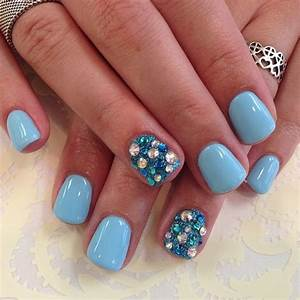 25 best images about baby blue nail art designs & videos ...
