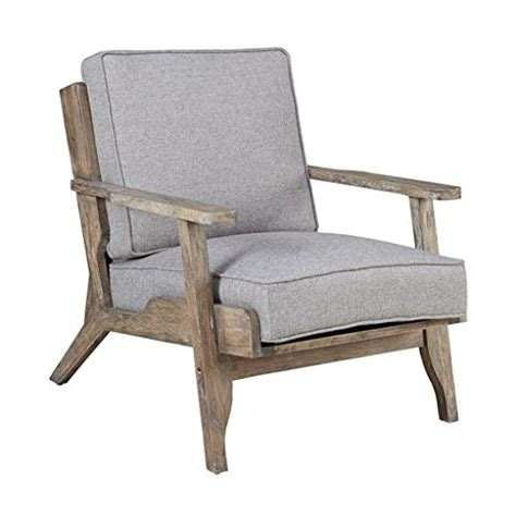 modern driftwood rustic gray fabric upholstered and wood