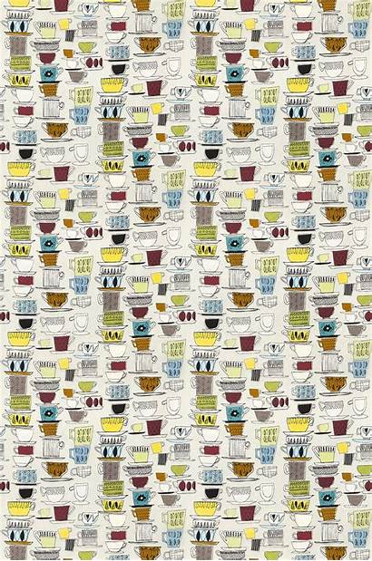 Cup Printing Cups Fabric Saucers Wallpaperdirect Prestigious