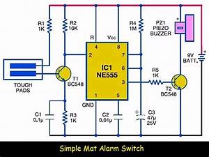 Simple Mat Alarm Switch